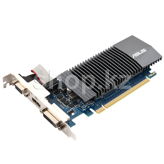Видеокарта PCI-E 1Gb ASUS GT 710SL, GeForce GT710 (GT710-SL-1GD5-BRK)