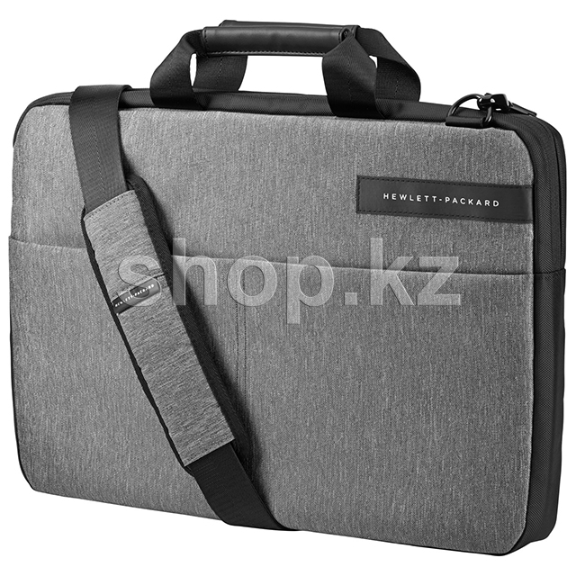 "Сумка для ноутбука HP Signature Slim Topload, 15.6"", Black-Gray"