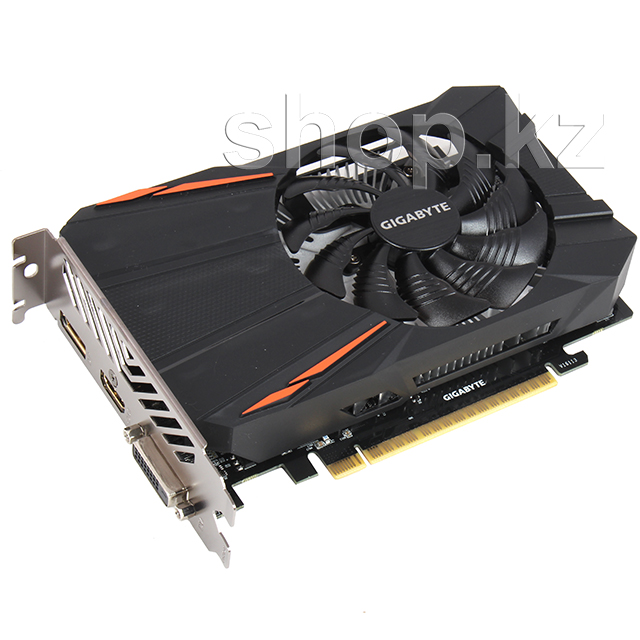 Видеокарта PCI-E 2048Mb Gigabyte GTX 1050 D5 2G, GeForce GTX1050