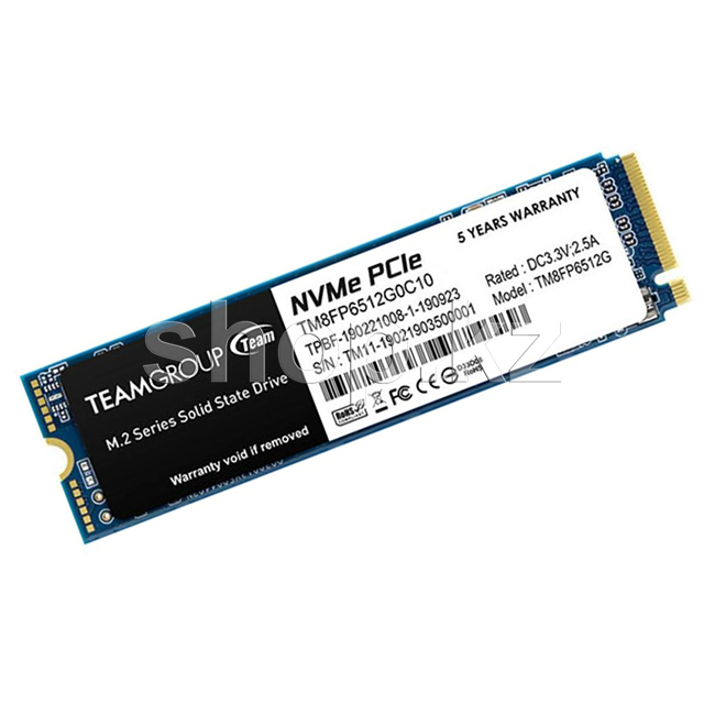 SSD накопитель 256 Gb Team Group MP34, M.2, PCIe 3.0