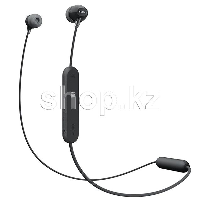 Bluetooth гарнитура Sony WI-C300, Black