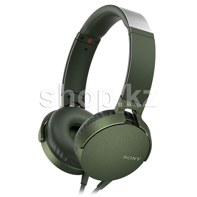 Гарнитура Sony MDR-XB550AP Extra Bass, Green