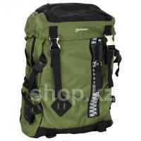 "Рюкзак для ноутбука Manhattan Zippack, 15.6"", Green-Black"