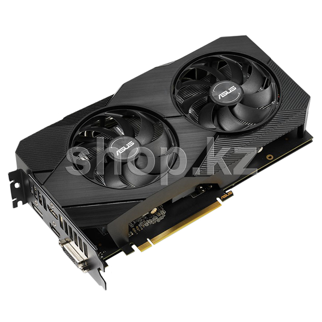 Видеокарта PCI-E 6144Mb ASUS GTX 1660Ti Dual Evo Advanced, GeForce GTX1660Ti