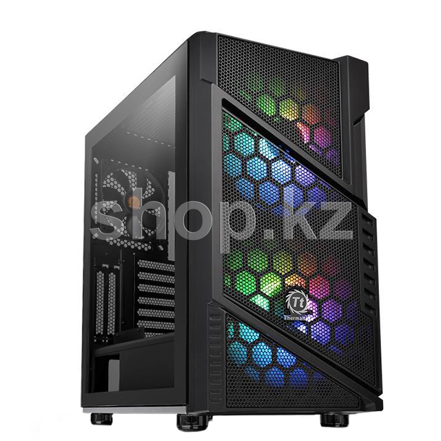 Корпус Thermaltake Commander C31TG ARGB, Black