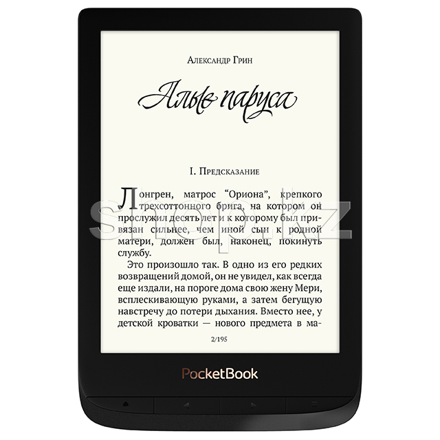 Электронная книга PocketBook Touch Lux 4, Black