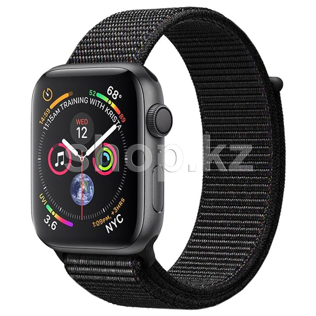 Смарт-часы Apple Watch Series 4, 44mm, Space Gray-Black (MU6E2GK)