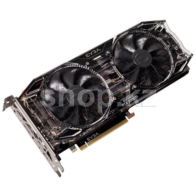 Видеокарта PCI-E 11264Mb EVGA RTX 2080Ti Black Edition Gaming, GeForce RTX2080Ti