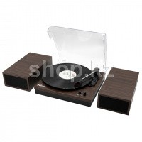 Проигрыватель виниловых пластинок Ritmix LP-340B, Dark Wood