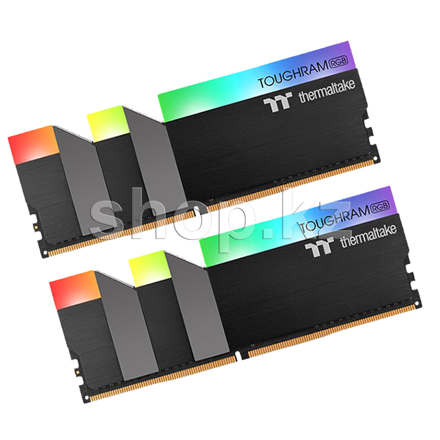 DDR-4 DIMM 16Gb/3000MHz PC24000 Thermaltake Toughram RGB, 2x8Gb Kit, BOX