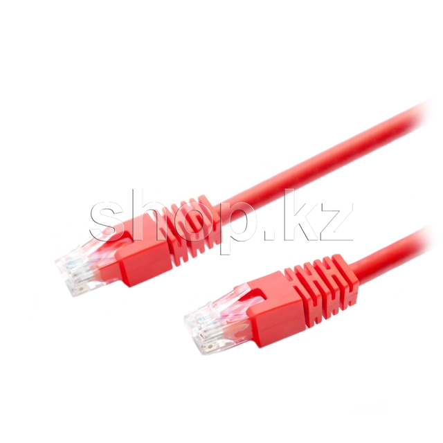 Patch cord RJ-45 5е cat AOpen ANP511-R, UTP, 5m, OEM, Red