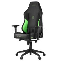 Кресло игровое компьютерное Razer Tarok Ultimate, Black-Green