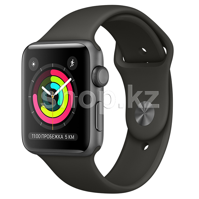 Смарт-часы Apple Watch Series 3, 42mm, Space Gray-Gray