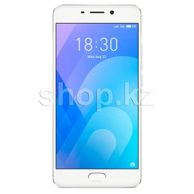 Смартфон Meizu M6 Note, 16Gb, Silver-White (M721H)