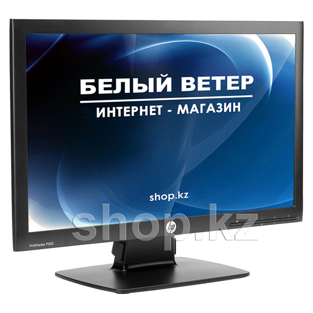 "Монитор 20"" HP ProDisplay P202, Black"