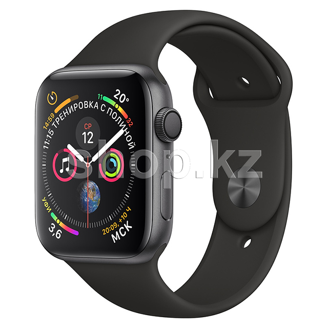 Смарт-часы Apple Watch Series 4, 44mm, Space Gray-Black