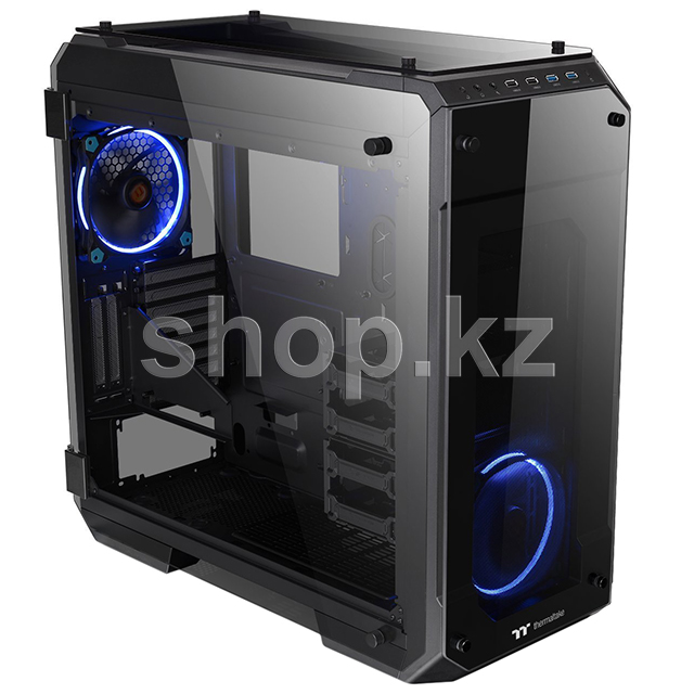 Корпус Thermaltake View 71 TG, Black-Clear