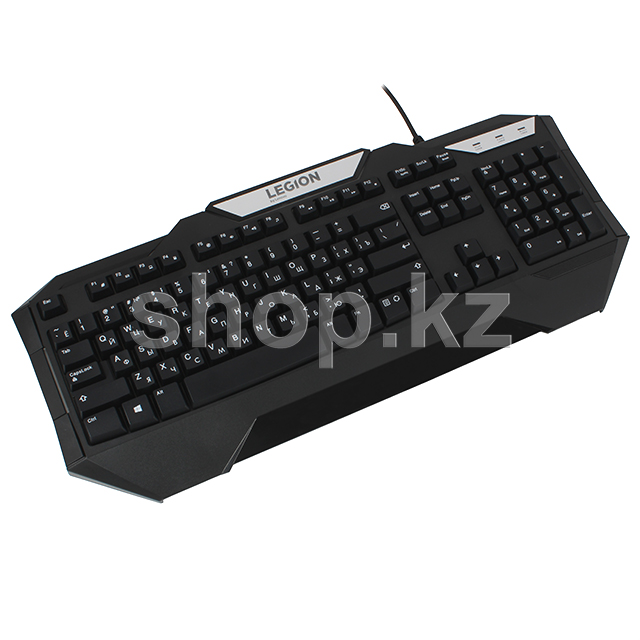 Клавиатура Lenovo Legion K200, Black, USB