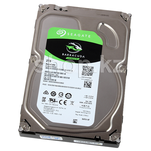 "Жесткий диск HDD 2000 Gb Seagate Barracuda (ST2000DM006), 3.5"", 64Mb, SATA III"