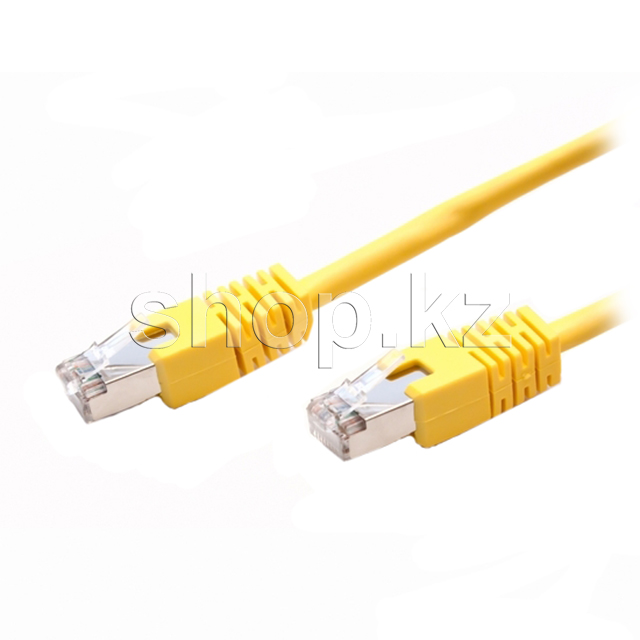 Patch cord RJ-45 5е cat SHIP, FTP, 1m, OEM, Yellow