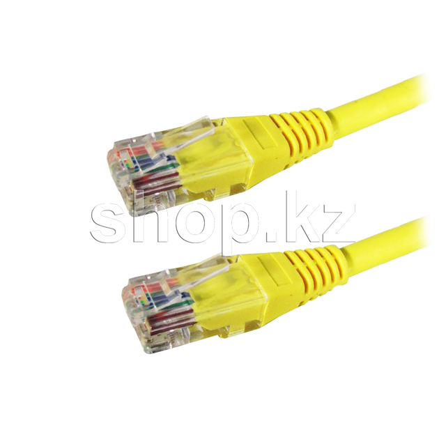 Patch cord RJ-45 5е cat SHIP, 10m, OEM, Yellow