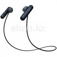 Bluetooth гарнитура Sony WI-SP500, Black