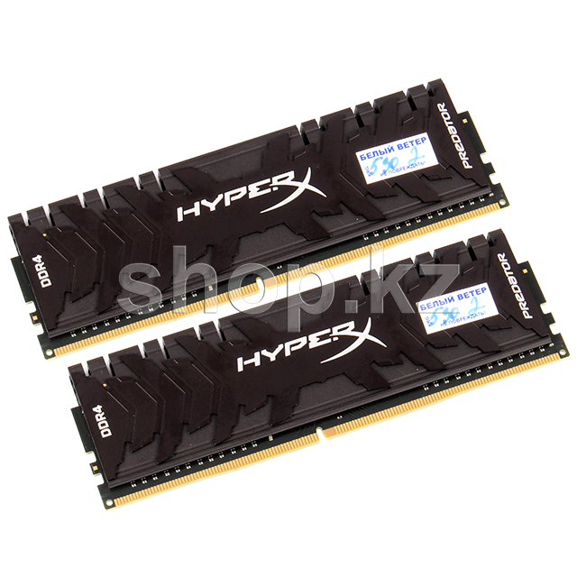 DDR-4 DIMM 16Gb/3333MHz PC26600 Kingston HyperX Predator, 2х8Gb Kit, BOX