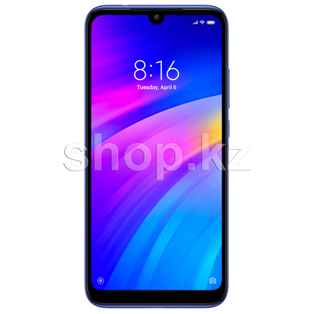 Смартфон Xiaomi Redmi 7, 32Gb, Comet Blue
