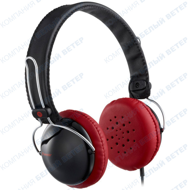 Наушники Pioneer SE-MJ151-K, Black-Red