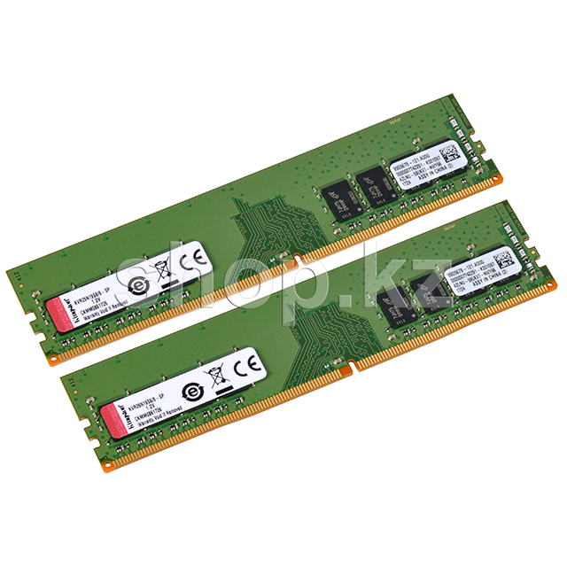 DDR-4 DIMM 16Gb/2400MHz PC19200 Kingston, 2x8Gb Kit, BOX
