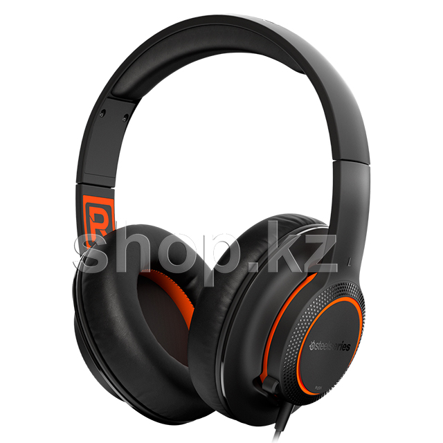 Гарнитура SteelSeries Siberia 100, Black-Orange