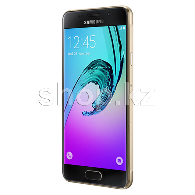 Смартфон Samsung Galaxy A3 (2016), 16Gb, Gold (SM-A310F)