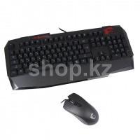 Клавиатура MSI Vigor GK40, Black, USB + мышь