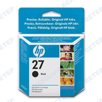 Картридж HP C8727AE No 27, black
