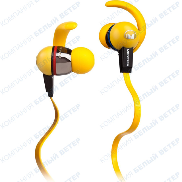 Гарнитура Monster iSport Immersion, Yellow