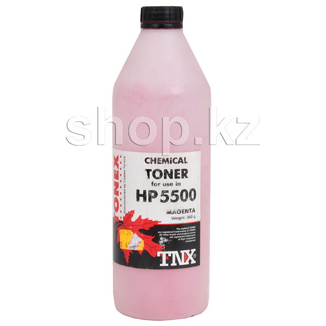 Тонер HP CLJ 5500/5550 Chemical, 380g, красный (Банка)