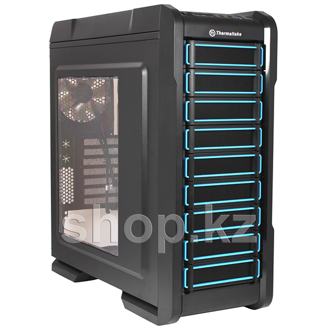Корпус Thermaltake Chaser A31, Black/Blue