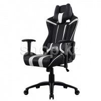 Кресло игровое компьютерное Aerocool AC120 AIR-BW, Black-White
