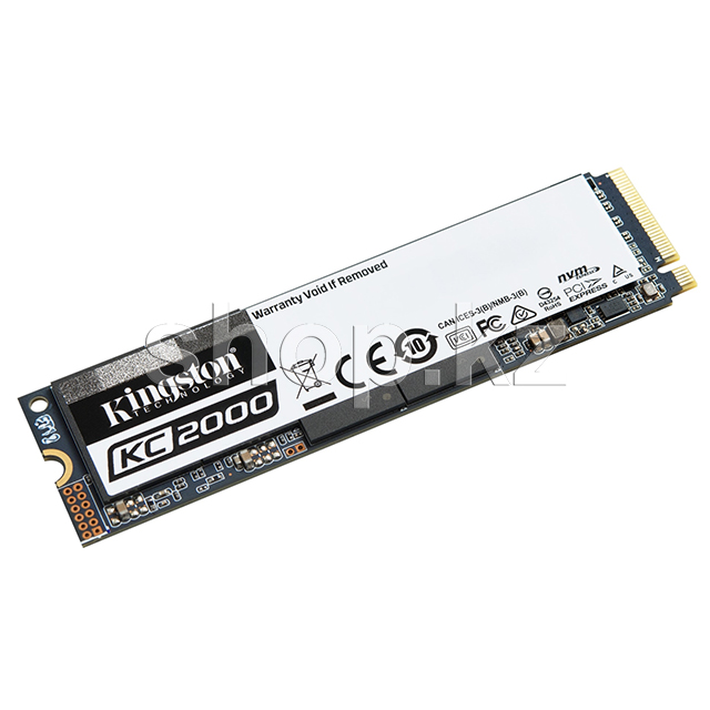 SSD накопитель 250 Gb Kingston KC2000, M.2, PCIe 3.0
