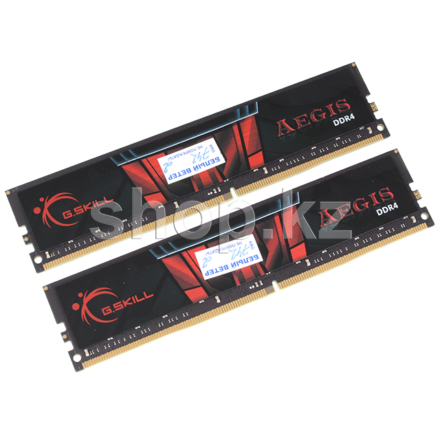 DDR-4 DIMM 32Gb/3200MHz PC25600 G.SKILL Aegis, 2x16Gb Kit, BOX
