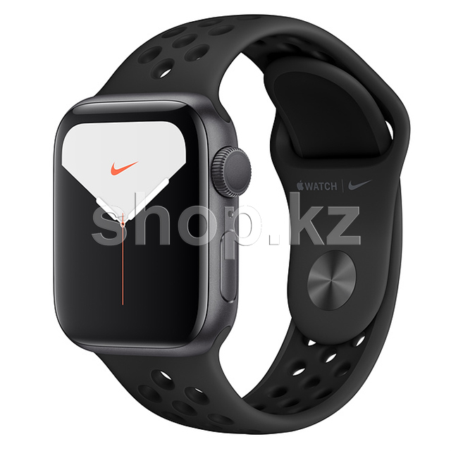 Смарт-часы Apple Watch Nike Series 5, 44mm, Space Gray-Black (MX3W2GK)
