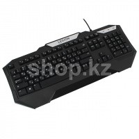 Клавиатура Lenovo Legion K200, Black, USB