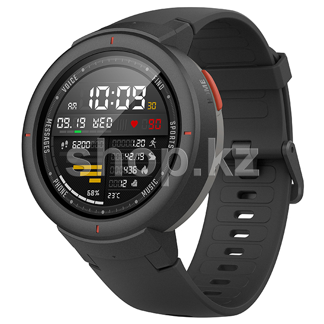 Смарт-часы Xiaomi Amazfit Verge, Black-Gray