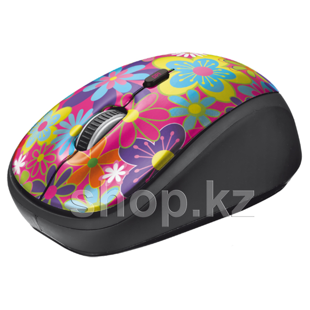 Мышь Trust Yvi, Flower Power, USB