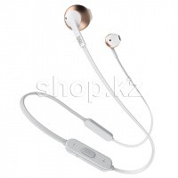 Bluetooth гарнитура JBL Tune 205BT, Rose-Gold