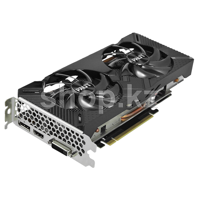 Видеокарта PCI-E 6144Mb Palit RTX 2060 Dual OC, GeForce RTX2060