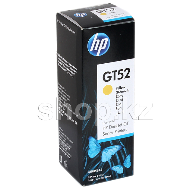 Чернила HP GT52 M0H56AE, Yellow