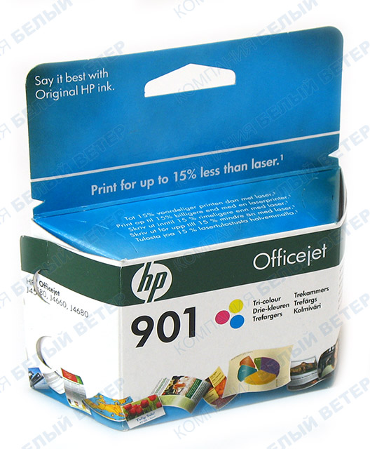 Картридж HP CC656HE No 90, color