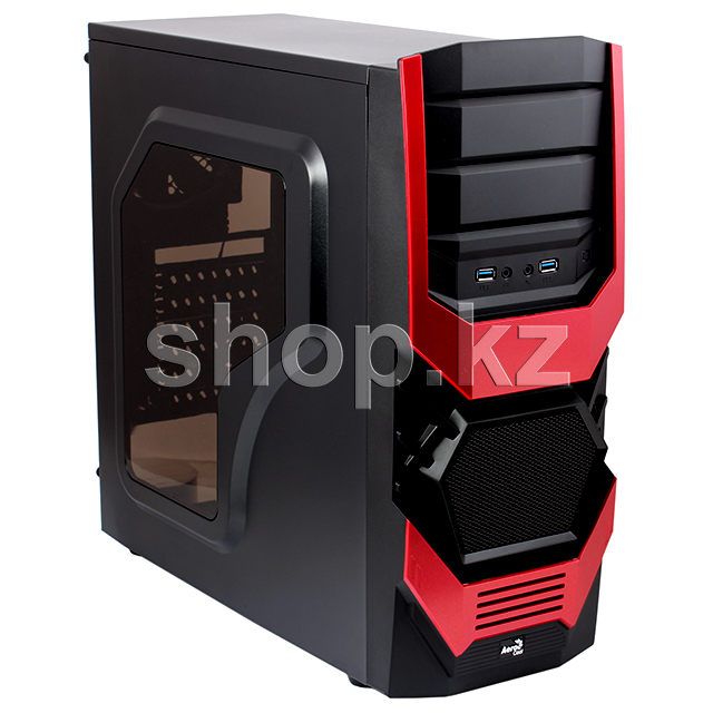 Корпус AeroCool Cyclops Advanced, Red