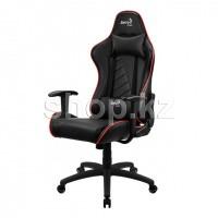 Кресло игровое компьютерное Aerocool AC110 AIR-BR, Black-Red